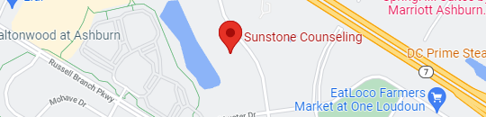 Map to Sunstone Counseling
